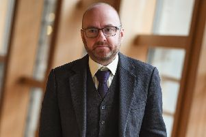 Greens co-leader Patrick Harvie want to roll back power to local communities. Picture: Jeff J Mitchell/Getty