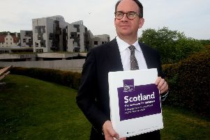 Andrew Wilson, the former SNP MP who produced the Growth Commission report for the nationalists, defending his work from critics who said it was too cautious and would damage the case for independence. Picture: PA Wire