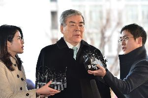 Cho Yang-ho was at the centre of criticism over Korea's family-owned conglomerates. Picture: AFP/Getty Images