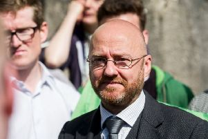 Patrick Harvie of the Scottish Greens has been pressing Nicola Sturgeon about her plans for a second indyref (Picture: John Devlin)