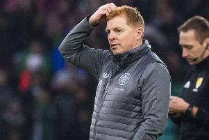 Neil Lennon searches for inspiration as his side stutter to a 0-0 draw at home to Livingston. Picture: SNS Group