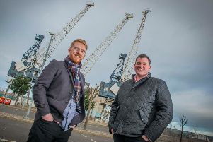 Seed Haus was founded by Calum Forsyth (left) and Robin Knox. Picture: Chris Watt Photography.