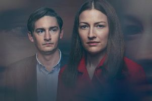 L-R: Craig Myers (James Harkness) and Anna Dean (Kelly Macdonald).