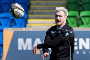 Glasgow Warriors will need to replace Stuart Hogg. Picture: SNS