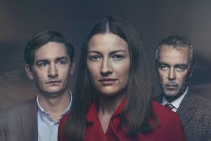 James Harkness, Kelly Macdonald and John Hannah in The Victim. Picture: contributed