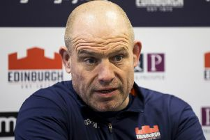 Edinburgh head coach Richard Cockerill. Picture: Bruce White/SNS