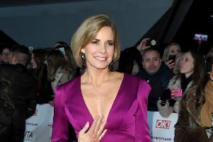 Darcey Bussell attends the National Television Awards. Picture: Stuart C. Wilson/Getty Images