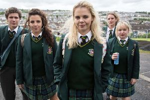 Laura Waddell recognises herself and schoolfriends in the everyday antics of the Derry Girls