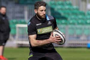 Glasgow Warriors' Tommy Seymour. Picture: SNS