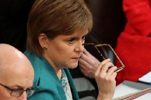 First Minister Nicola Sturgeon called for extra Brexit time to be used to hold a second EU referendum