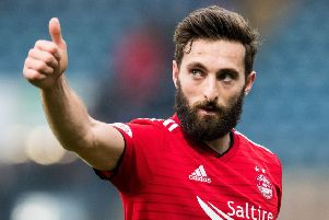 Aberdeen captain Graeme Shinnie. Picture: SNS