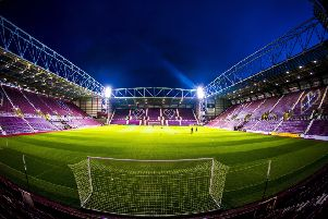 A general view of Tynecastle Park. Picture: SNS Group