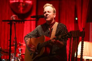 Kiefer Sutherland's love of outlaw country is now a credible side career