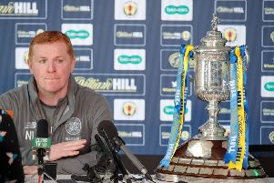 Celtic manager Neil Lennon. Picture: Steve Welsh