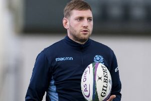 A head injury forced Finn Russell to miss Scotland's Six Nations match with France. Picture: SNS