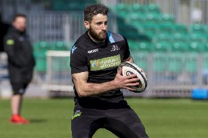 Glasgow Warriors' Tommy Seymour. Pic: SNS/SRU/Tommy Seymour
