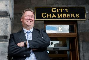 Chief Executive of City of Edinburgh Council. Picture: Andrew Kerr