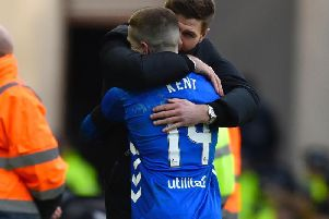 Steven Gerrard will make a visit to Liverpool to try and keep Ryan Kent. Picture: SNS