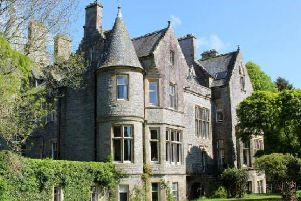 The property, near Auchencairn, Kirkcudbrightshire, has been valued at 1.5 to 2.5 million
