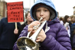Cuts to music tuition have made news up and down the country in recent months. Picture: Lisa Ferguson
