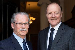(L to R) Alan Stewart, chairman, and Andrew Chalmers, managing partner of Davidson Chalmers Stewart. Picture: Graham Clark