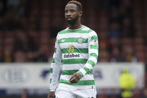 Moussa Dembele is being watched by Manchester United and Arsenal. Picture: SNS/Craig Foy
