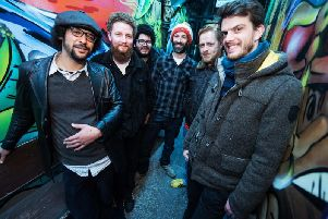 The Edinburgh-based sextet James Brown Is Annie have released two albums to date.