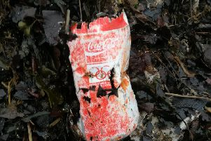 A Coca-Cola can featuring a promotion for the Seoul Olympics was discovered during a beach clean-up at Cramond