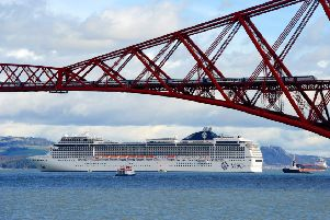 Edinburgh has been voted the top cruise destination in western Europe