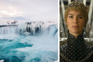 The new flight from Scotland will open up Game of Thrones filming locations in the north of Iceland. PIC: AP/HBO/Contributed.