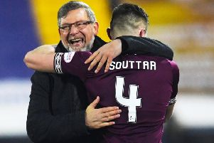 Craig Levein feels he has 'all bases covered' with John Souttar. Pic: SNS