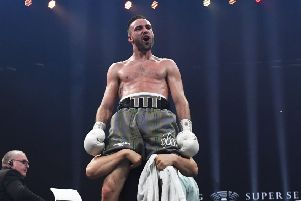 World No.2 Josh Taylor is relishing his upcoming fight with Ivan Baranchyk. Picture: SNS Group