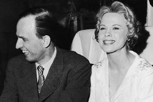 Bibi Andersson with Ingmar Bergman in 1959  (Picture: Keystone/Hulton Archive/Getty Images)