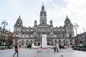 The SNP lead a minority administration in Glasgow. Picture: John Devlin