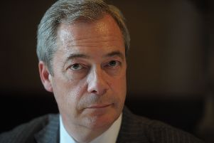Nigel Farage's Brexit Party is currently ahead of the other parties according to a YouGov poll (Picture: Steven Scott Taylor)