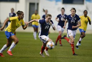 Scotland's women defeated Brazil in a recent friendly. Picture: Lorraine Hill