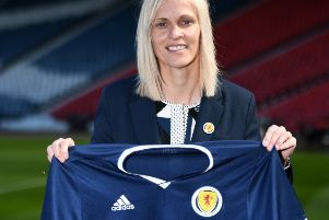 Shelley Kerr is the manager of the Scottish women's football squad. Picture: John Devlin