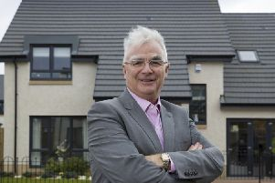 Sandy Adam is the chairman of Elgin and Larbert-based Springfield Properties. Picture: Contributed