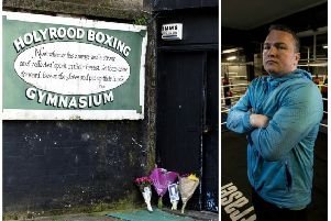 Bradley Welsh founded Holyrood Boxing Gym in Edinburgh. Picture: TSPL/SWNS