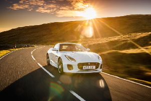 The new Jaguar F-Type uses four-cylinder V6 and V8 engines with power ranging from 296bhp to 567bhp