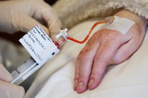 Doctors in Tayside argued that higher doses of the cancer drugs  prescribed elsewhere were 'unacceptably toxic'. Picture: TSPL