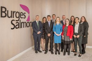Pictured are Roger Bull, Joanna Monaghan, Craig Whelton, Danny Lee, Lynette Purves, Robert Forman, Lynsey Reid, Claire MacLean, Emma Shearer, Emma Dowden. Picture: Contributed