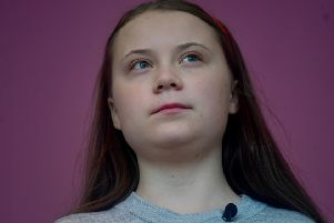 Teenage climage change activist Greta Thunberg. Picture: PA