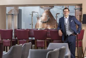 Ray Clynick has harnessed his scientific background for distilling. Picture: contributed.