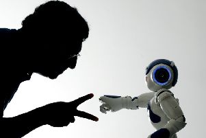 Advances in artificial intelligence mean robots can do much more than play rock-paper-scissors