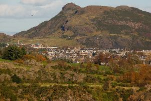 Is this Arthur's Seat or Triduana's
