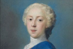 The portrait of Bonnie Prince Charlie. Picture: Contributed