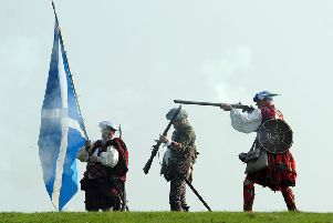 The Jacobite victory at the 1745 Battle of Prestonpans is due to be marked with a permanent visitor centre and tourist attraction - as well as Scotland's first statue of Bonnie Prince Charlie. PIC: Neil Hanna/JP Licence.