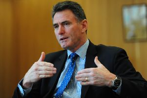 McEwan has a year's notice period and will stay in post until a successor has been appointed. Picture: Ian Rutherford