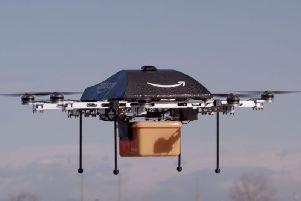 Companies such as Amazon have trialled drone delivery.